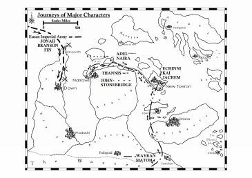 Journeys of Characters in Visions - Book 1