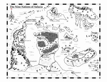Map of Salucia